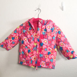 Topo Mini Girls 4T with Hood many details